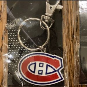 1 Montreal Canadian NHL Key Chain
